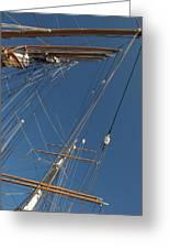 Tall Ship Rigging 1 Greeting Card