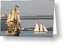 Tall Ship Six Greeting Card