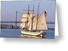 Tall Ship Three Greeting Card