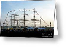Tall Ships 2009. Klaipeda. Lithuania Greeting Card