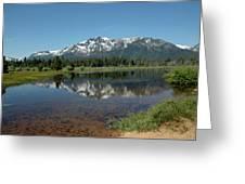 Tallac Reflections Greeting Card
