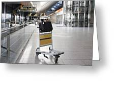 Tallinn Airport In Estonia Greeting Card