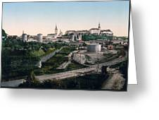 Tallinn Estonia - Formerly Reval Russia Ca 1900 Greeting Card by International  Images