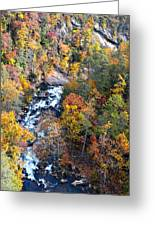 Tallulah River Gorge Greeting Card