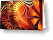 Tangerine Greeting Card