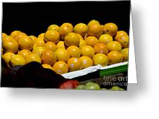 Tangerines For Sale Greeting Card