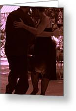 Tango Barcelona Greeting Card