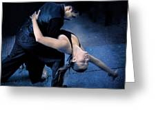 Tango Night  Greeting Card