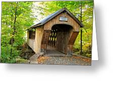 Tannery Hill Covered Bridge Greeting Card