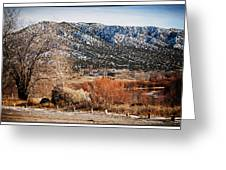 Taos Mountain View 1 Greeting Card