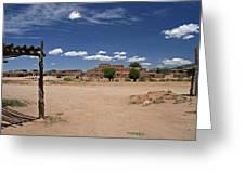 Taos Pueblo New Mexico Greeting Card