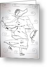 Tarantella Dance - Italy Greeting Card
