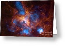 Tarantula Nebula 30 Doradus Greeting Card