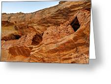 Target - Bulls Eye Anasazi Indian Ruins Greeting Card