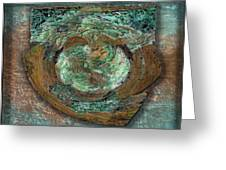 Tarnish And Brass Greeting Card