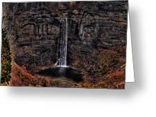 Taughannok Falls II - Hdr Greeting Card