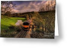 Taw Valley Greeting Card by Rob Hawkins