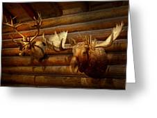 Taxidermy - The Hunting Lodge  Greeting Card
