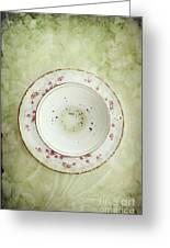 Tea Leaves Greeting Card by Stephanie Frey