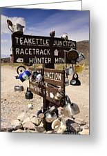 Teakettle Junction Greeting Card