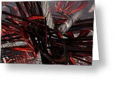 Technic Abstract Fx  Greeting Card