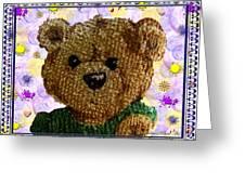 Ted E. Bear Greeting Card