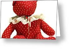 Teddy Bear Of Love Greeting Card