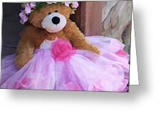 cf9ef13a924 Teddy Bear Wearing Pink Tutu Canvas Print   Canvas Art by Angel McCoy