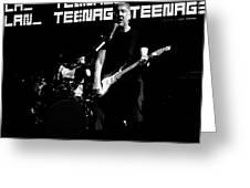 Teenage Wasteland Greeting Card