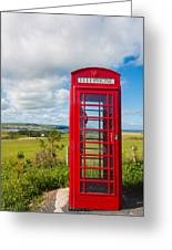 Telephone Anyone Greeting Card
