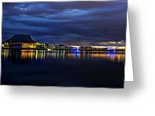Tempe Arts Center At Sunset  Greeting Card
