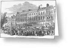 Temperance Rally, 1853 Greeting Card