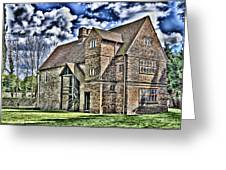 Temple Manor Greeting Card