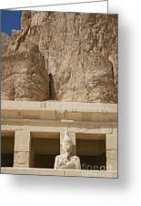 Temple Of Hatshepsut Greeting Card