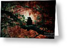 Tempting Fate Greeting Card by Andrew Paranavitana