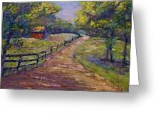 Ten Oaks Road Greeting Card