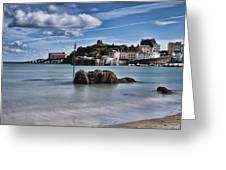 Tenby Harbour 1 Greeting Card