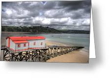 Tenby Lifeboat House Greeting Card