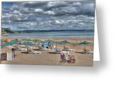 Tenby North Beach 3 Greeting Card