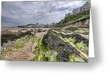 Tenby Rocks 2 Greeting Card