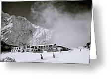 Tengboche Monastery Greeting Card