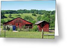 Tennessee Barn 4 Greeting Card