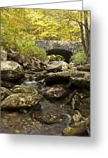 Tennessee Stone Bridge 6062 Greeting Card