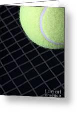 Tennis Anyone Greeting Card by John Van Decker