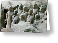 Terracotta Army Xi'an Greeting Card