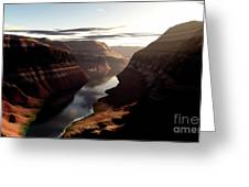Terragen Render Of Trail Canyon Greeting Card
