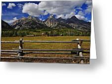 Teton Farm Greeting Card