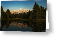 Teton Reflections Greeting Card