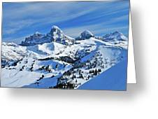 Teton Winter Greeting Card