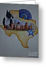 Texas Bound 3 Greeting Card